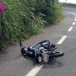 accidente moto 150x150 - Muere menor de 14 años y otro de 16 resulta herido en choque en carretera a Pascuales