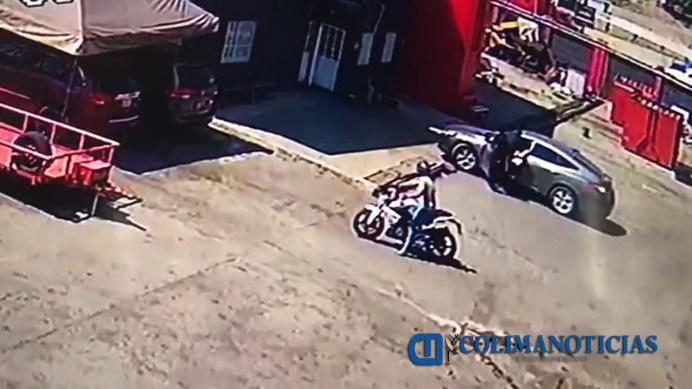 asaltan en chatarrera