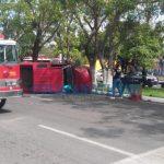 choque camioneta fallece mujer 150x150 - Reportan mortal accidente frente a los terrenos de la feria en La Estancia