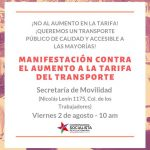 entregaran firmas movilidad 150x150 - Mañana entregan firmas y se manifestarán en Movilidad por aumento al transporte