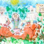 """MITLA MARIANA CATALINA ROMERO AGUILAR s 150x150 - Niña colimense obtiene Segundo Lugar en Concurso Nacional de Dibujo """"Y para ti ¿Qué es la Migración?"""""""
