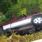 accdeinte camioneta 150x150 - Localizan camioneta abandonada y siniestrada en la carretera a Cihuatlán