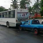 choque 3 150x150 - Fuerte accidente en Miramar | Colima Noticias