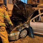 incendio 150x150 - Fuego consume auto en Valle Paraíso