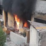 incendio casa 2 150x150 - Incendio de vivienda en la zona centro de Manzanillo