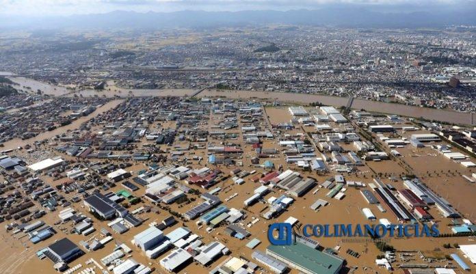 tifon  696x401 - Tifón «Hagibis» deja al menos 24 muertos y 170 heridos, en Japón