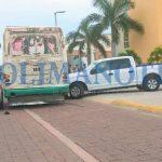 Camioneta vs. urbano en el boulevard costero 150x150 - Camioneta vs. urbano en el boulevard costero