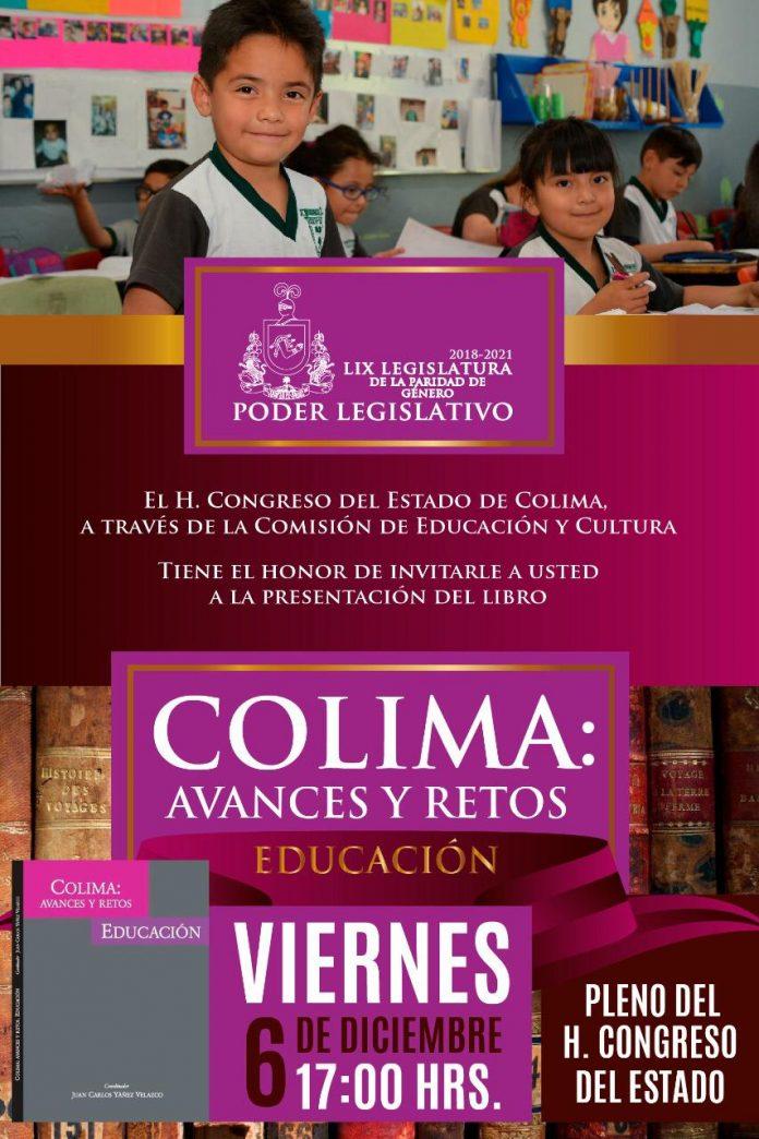 Presentarán Libro sobre Educación en Colima 696x1044 - Presentarán Libro sobre Educación en Colima, este viernes en el Congreso