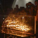 """linea que arde 150x150 - Inauguran """"La única línea que ilumina es la que arde"""", de Antonio Carranza"""