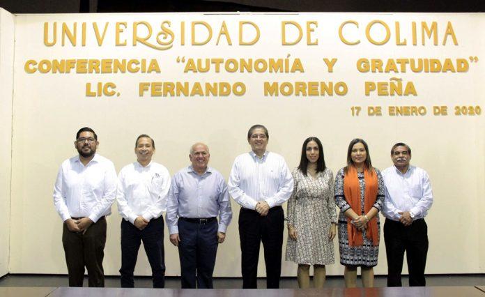 Conferencia Autonomía y Gratuidad dictada por Fernando Moreno Peña PRINCIPAL 696x426 - Gratuidad en la educación superior, obligación del Estado, no de las universidades: Fernando Moreno - #Noticias