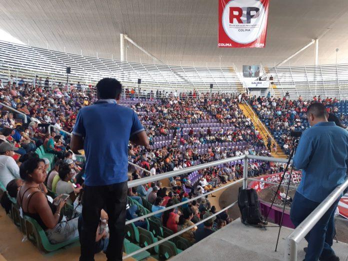 RSP colima megapalenque 696x522 - Sin la presencia de Elba Esther Gordillo, las RSP logran conformar asamblea en Colima para ser partido político - #Noticias