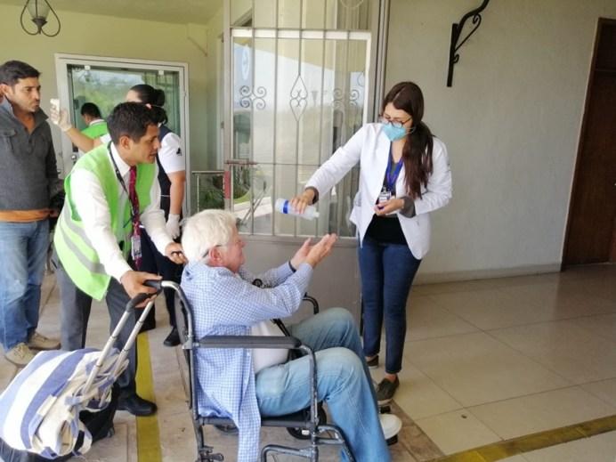 Activos filtros sanitarios en centrales de autobuses y aeropuertos
