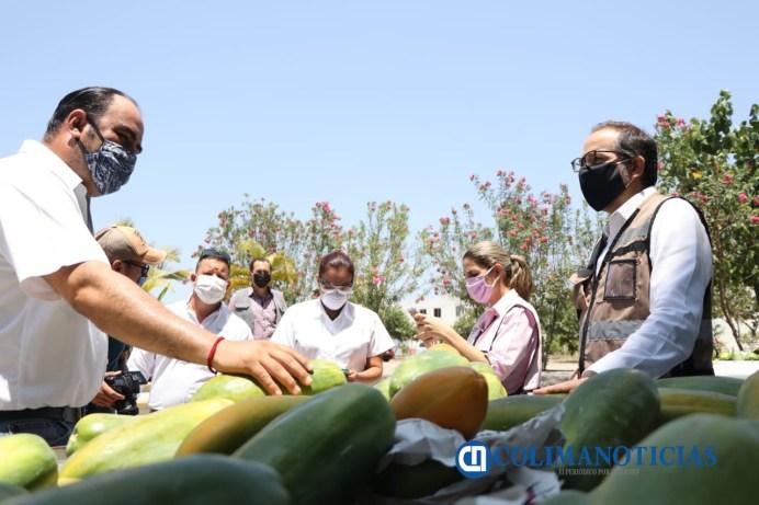 Gobernador reconoce generosidad de productores locales