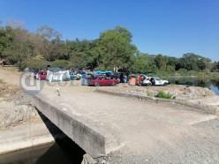 Protección Civil retira a más de 80 turistas de Zacatecas del río Armería (2)