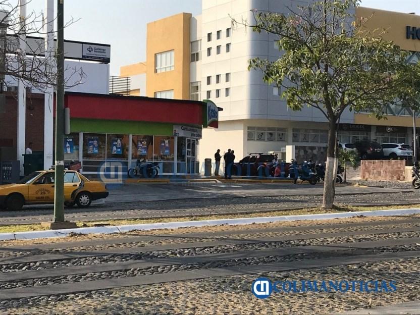 baleado en Kiosko colima 1024x768 - A balazos asesinan a un hombre junto a un Kiosko de la Av. Ignacio Sandoval