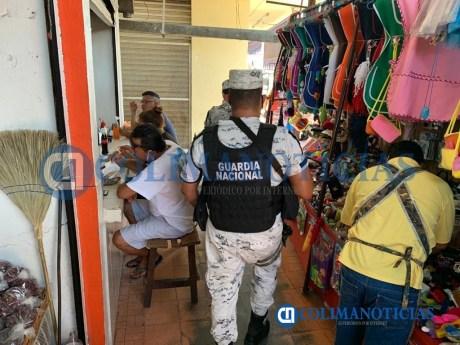 Cierran negocios no esenciales en Tecomán ante la pandemia