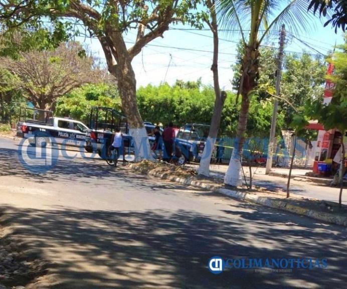Dentro de su taller de bicicletas ejecutan a un hombre en la colonia Las Palmas, en Tecomán