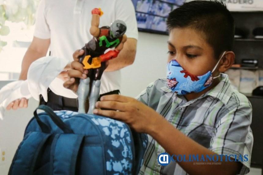 Policía Municipal de Colima recupera tesoro de dos niños2 1024x682 - Policía Municipal de Colima, recupera 'tesoro' de dos niños