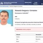 El Mencho DEA