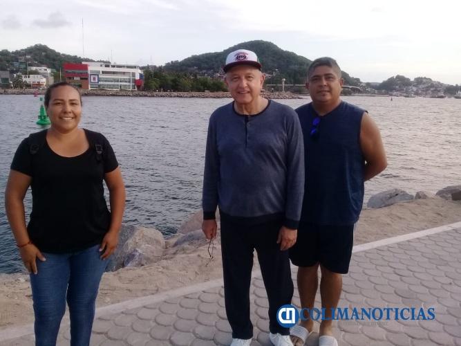 AMLO en Manzanillo