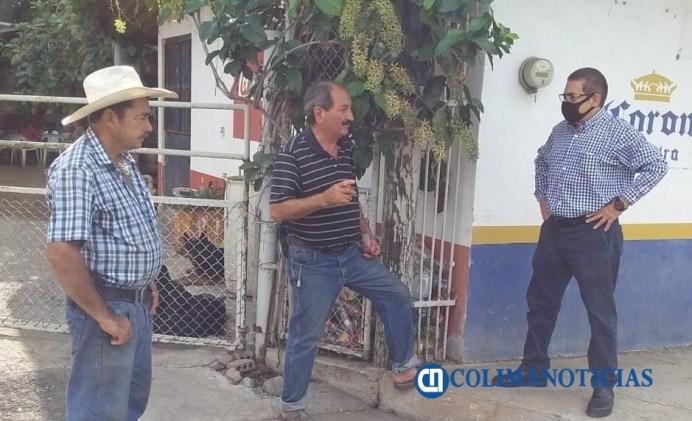 Recorre Alejandro Cárdenas zona rural para concientizar sobre medidas preventivas