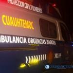 ambulancia proteccion civil cuauhtemoc