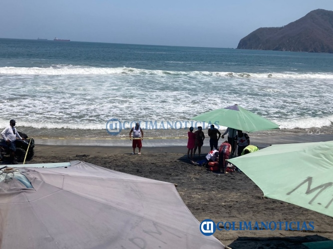 ahogada en playa MIramar