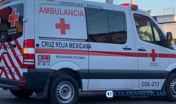 cruz roja - ambulancia Tecomán