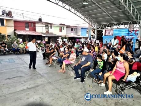 federico rangel cerró campaña en el Infonavit La Estancia