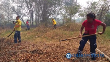 Sofocan incendio de pastizales en el Barrio V del Valle de las Garzas4