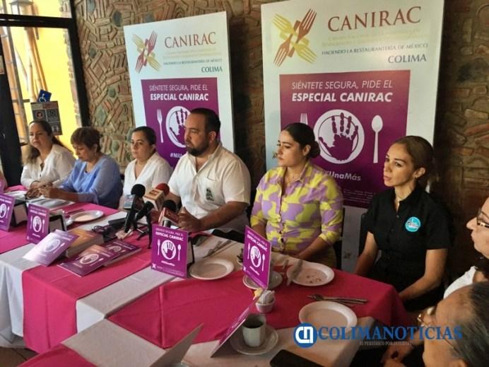 Te sientes amenazada en algún restaurante… pide el 'Especial Canirac' para ser apoyada