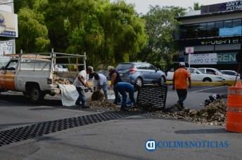 limpieza preventiva a lluvias Colima