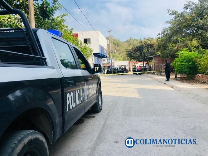 policía manzanillo muerto