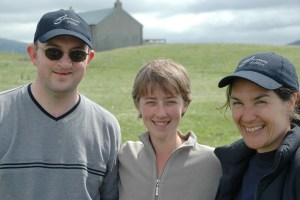 Me, Jenny and Ann, Isle of Taransay