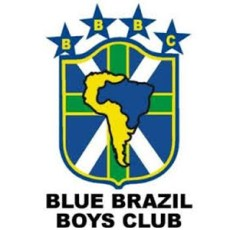 Blue Brazil Badge