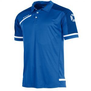 Prestige Polo Shirt_Royal_White