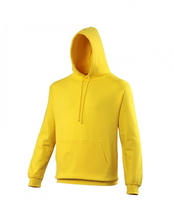 WIT HOODED TOP YELLOW