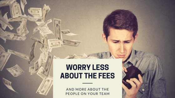 Worry about your service providers