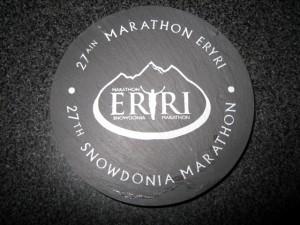 Snowdon Marathon coaster 2009
