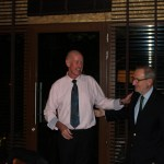 Señor Pere Bonet, El Presidente del Consejo Regulador, DO Cava, with Cava Dinner Presenter, Colin Harkness