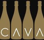 CRUISE CAVA BOTTLES WITH CAVA WRITTEN IN V'S