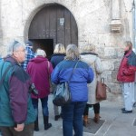 Street Level in Toro - the entrance to an amazing and historic cellar!