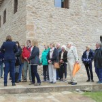 The group attentively listening to our Guide, Miriam