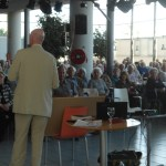 An attentive and enthusiastic audience at the January Meeting of the Torrevieja U3A!