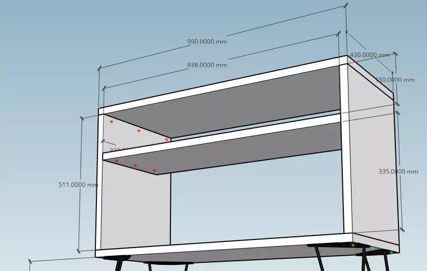 diy meuble hifi et vinyles colin