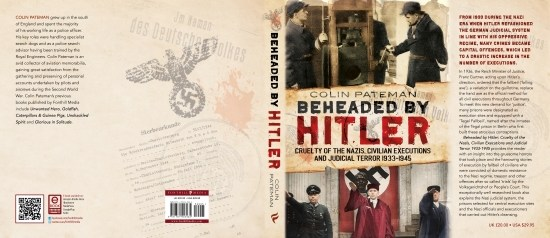 Beheaded by Hitler By Colin Pateman, Book's Jacket Cover