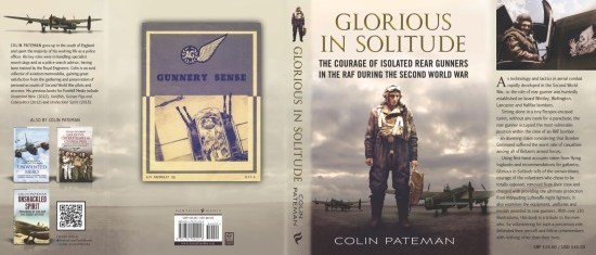 Glorious in Solitude By Colin Pateman, Book's Jacket Cover