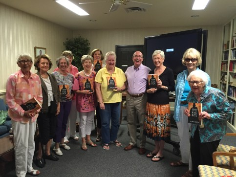 No Name Book Club at Good Shepard Apiscopal Church of Dallas hosted Colin P. Cahoon