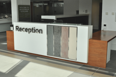 How To Design A Reception Desk And What To Consider How