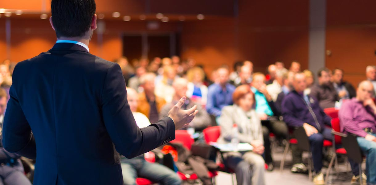 Record conference sessions and keynote speakers using Presentation & Lecture capture software with PowerPoint integration.